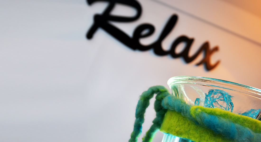 Bild Relax bei implantologischer Behandlung